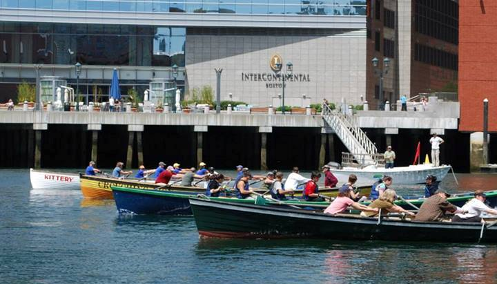 Fort Point Channel Regatta Start