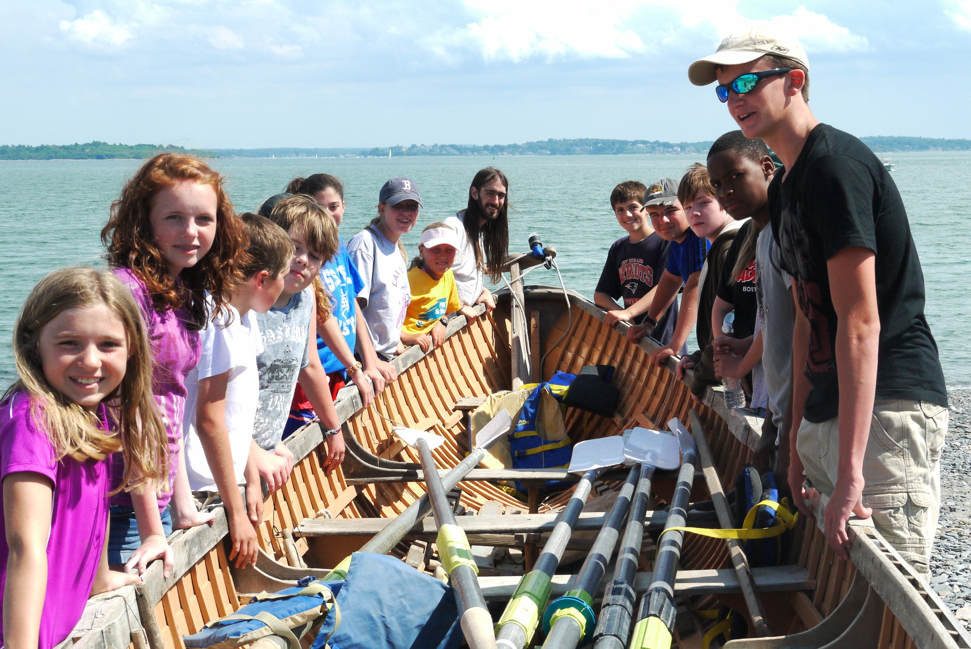Summertime South Shore Youth Rowing