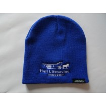 HLM Logo Blue Knit Cap